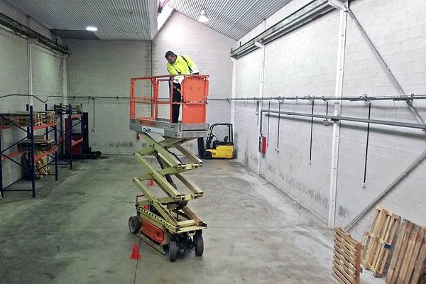 Practicas con plataformas elevadoras
